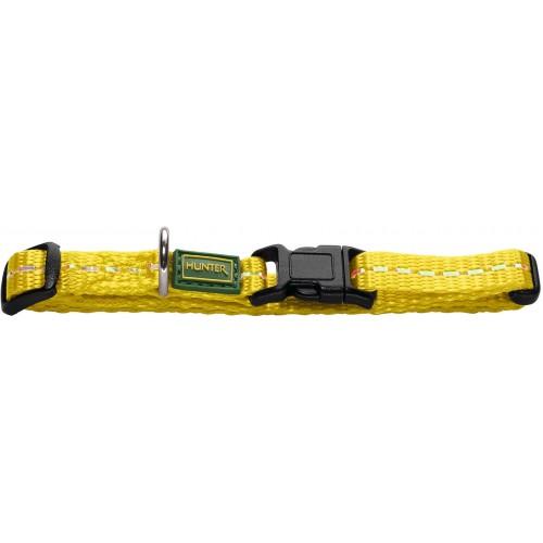 Tripoli Vario Basic - Ошейник для собак из нейлона, желтый, светоотражающий