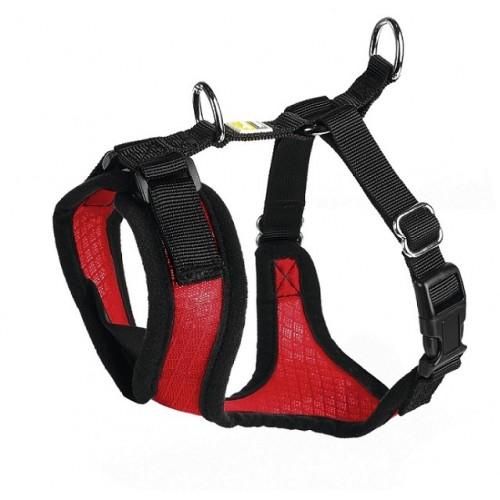 Manoa - Шлейка для собак красная, нейлон/сетчатый текстиль