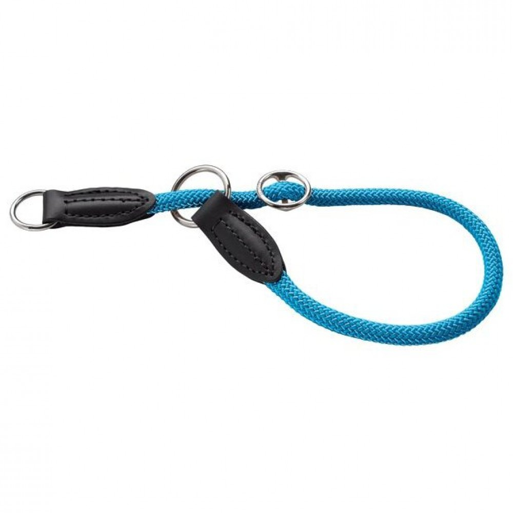 Hunter Freestyle - Ошейник-удавка для собак, нейлоновая стропа, бирюзовый