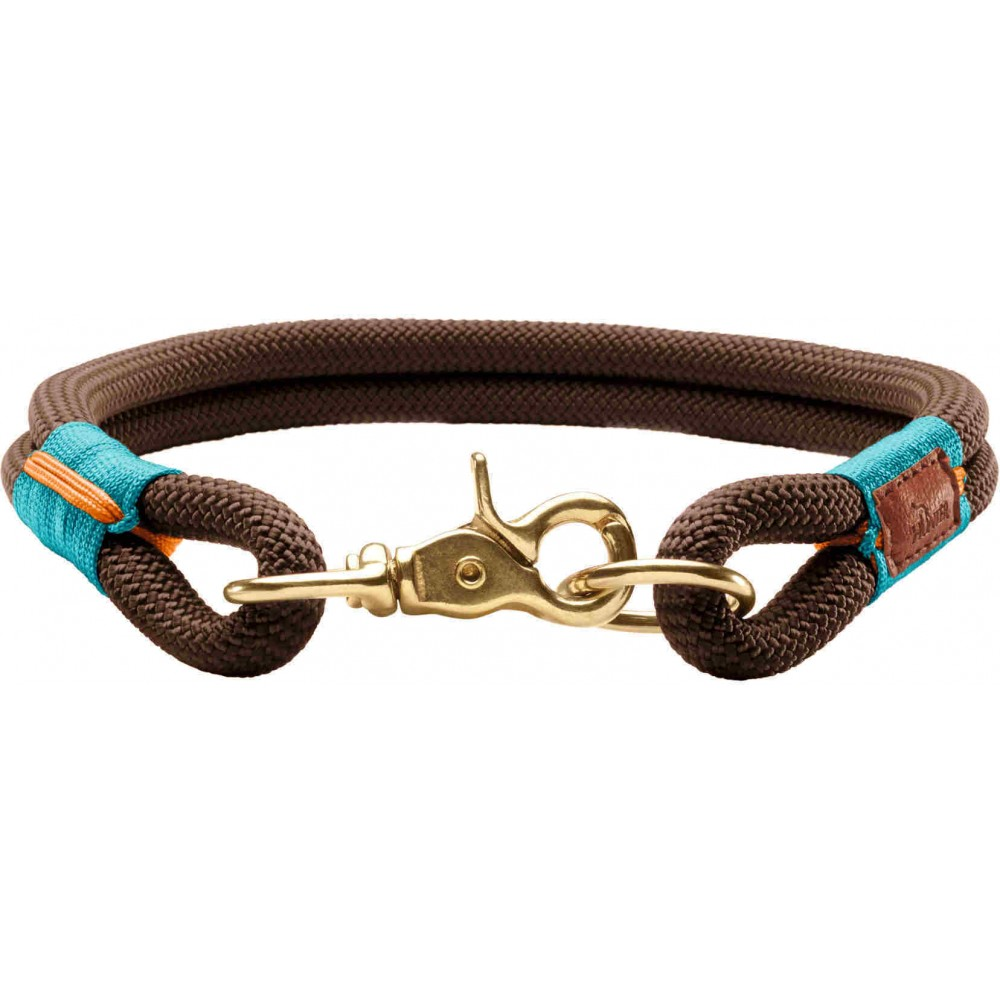 Hunter Oss - Ошейник для собак коричневый, текстиль