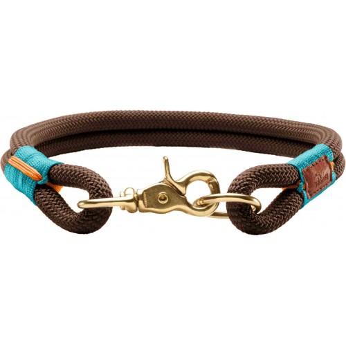 Oss - Ошейник для собак коричневый, текстиль