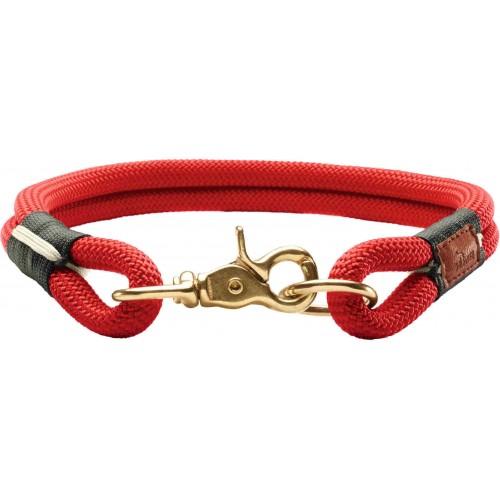 Oss - Ошейник для собак красный, текстиль