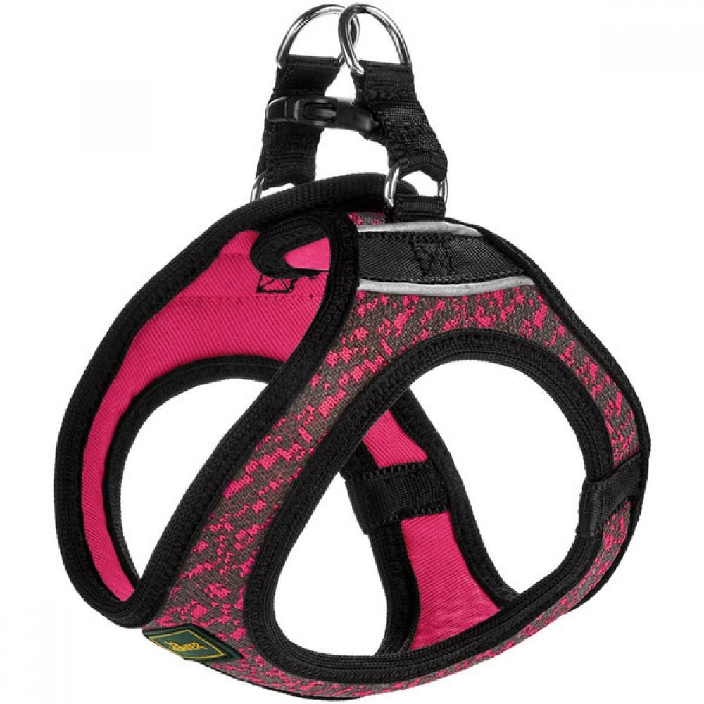 Hunter Hilo Soft Comfort - Шлейка для собак, сетчатый текстиль, розовая