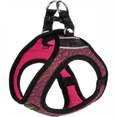 Hilo Soft Comfort - Шлейка для собак, сетчатый текстиль, розовая
