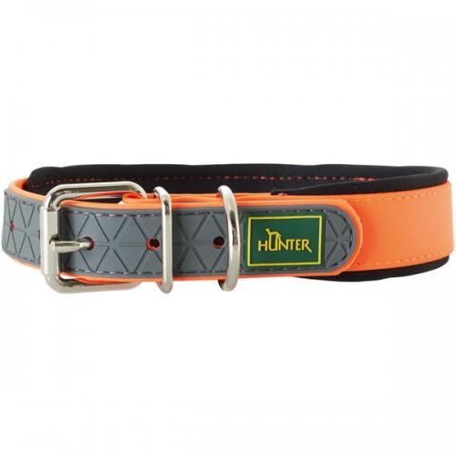 Convenience Comfort - Ошейник для собак биотановый с мягкой горловиной, оранжевый неон