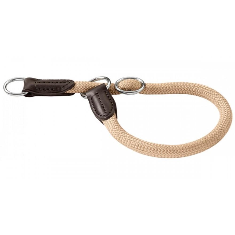 Hunter Freestyle - Ошейник-удавка для собак, нейлоновая стропа, бежевый