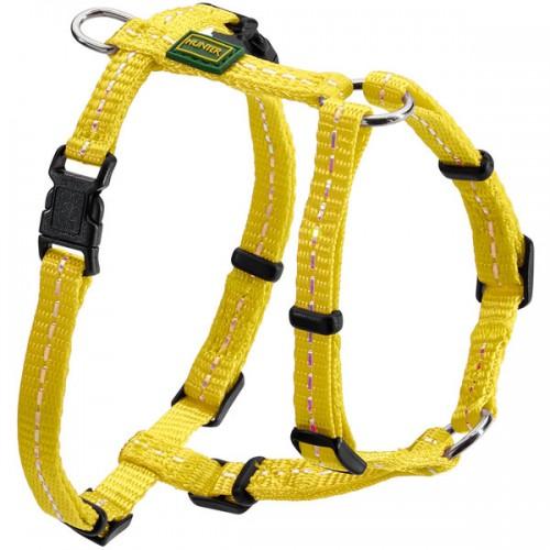 Tripoli - Шлейка для собак, нейлон желтый, светоотражающая