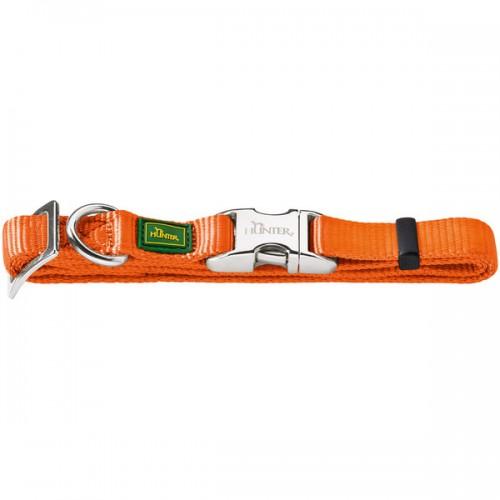 ALU-Strong - Ошейник для собак нейлоновый с металлической застежкой, оранжевый