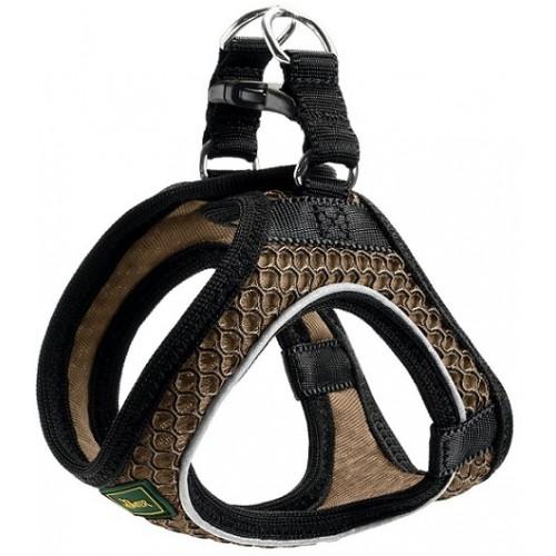 Hunter шлейка для собак Hilo Comfort 58-65 см, сетчатый текстиль, коричневая
