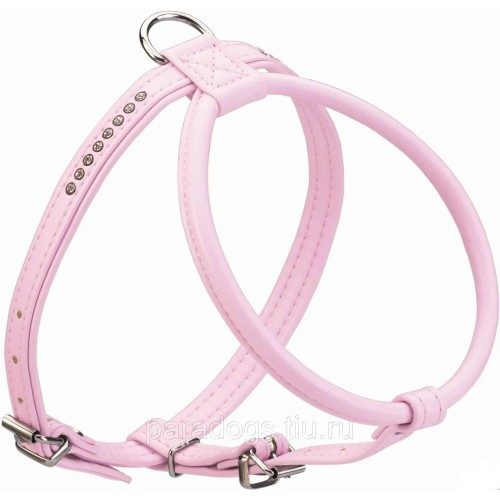Modern Art R&S Luxus Smart - Шлейка для собак кожзам розовый