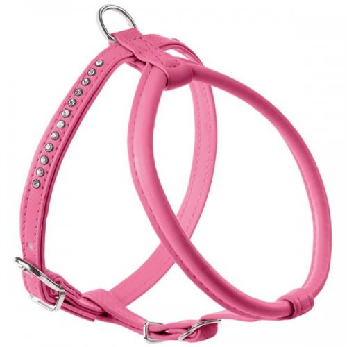Hunter шлейка для собак Modern Art R&S Luxus 45/11 заменитель кожи светло-розовый СКИДКА 80%