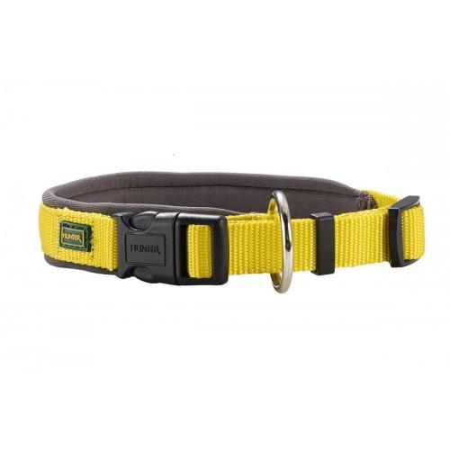 Neopren Vario Plus - Ошейник для собак желто-бежевый, нейлон/неопрен