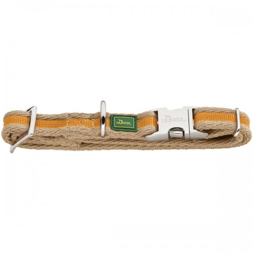 Patras Alu-Strong - Ошейник для собак желтый, текстиль