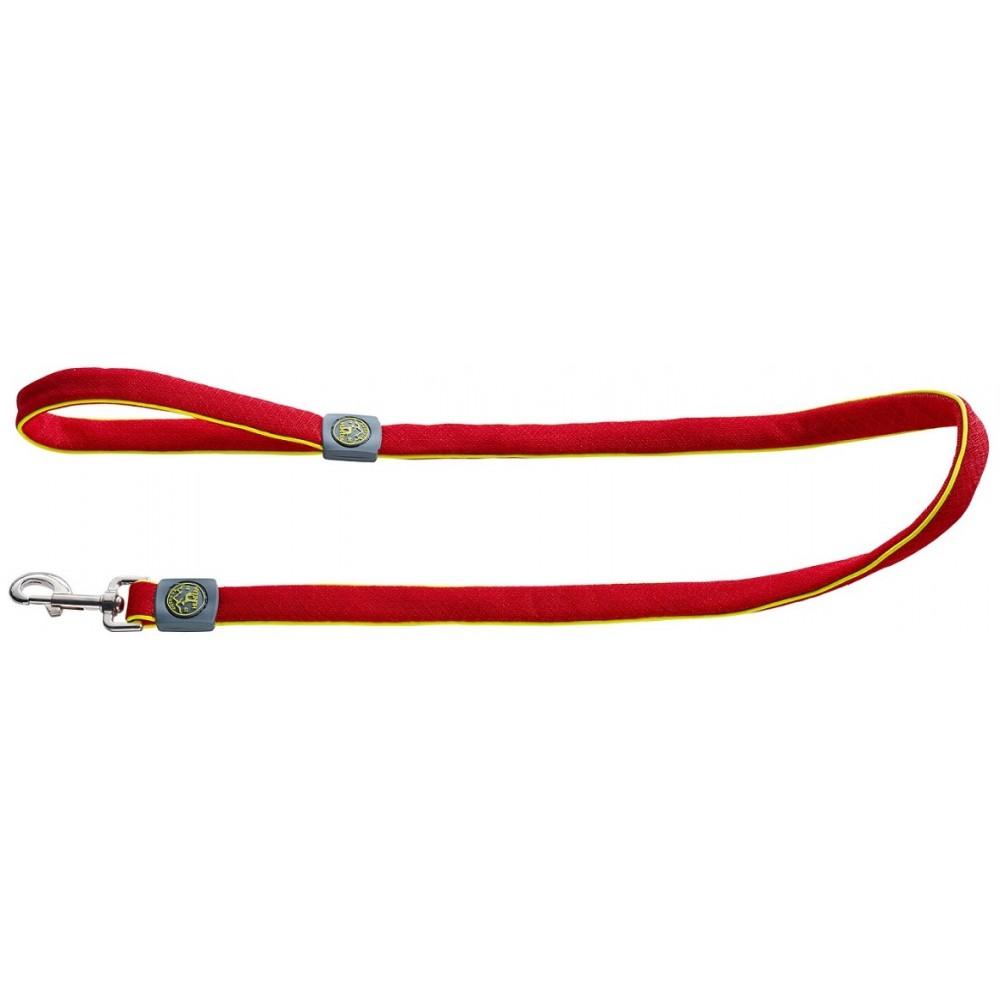 Hunter Maui - Поводок для собак, сетчатый текстиль, красный