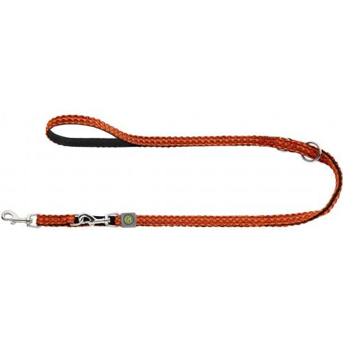Hilo - Поводок-перестежка для собак, нейлон оранжевый