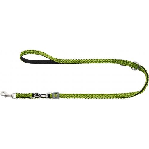 Hilo - Поводок-перестежка для собак, нейлон лайм