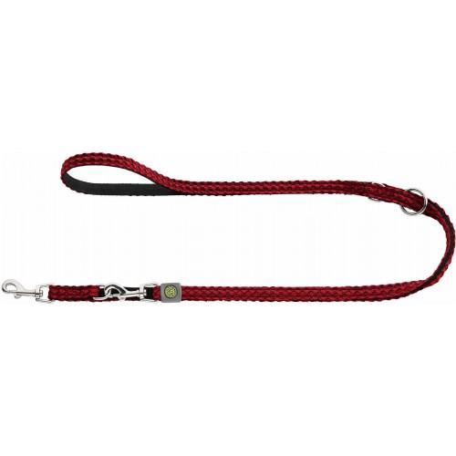 Hilo - Поводок-перестежка для собак, нейлон красный
