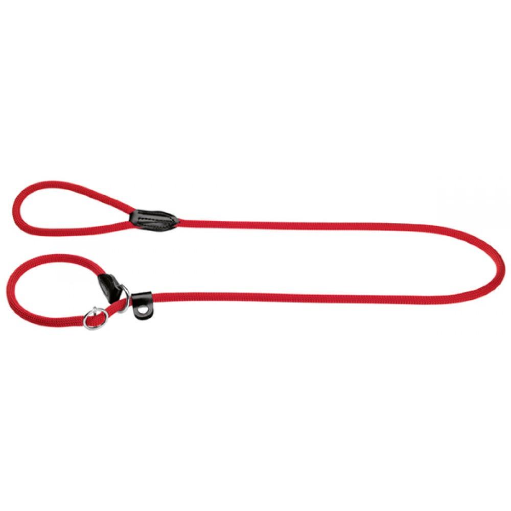Hunter Freestyle - Поводок для собак круглый, нейлон красный