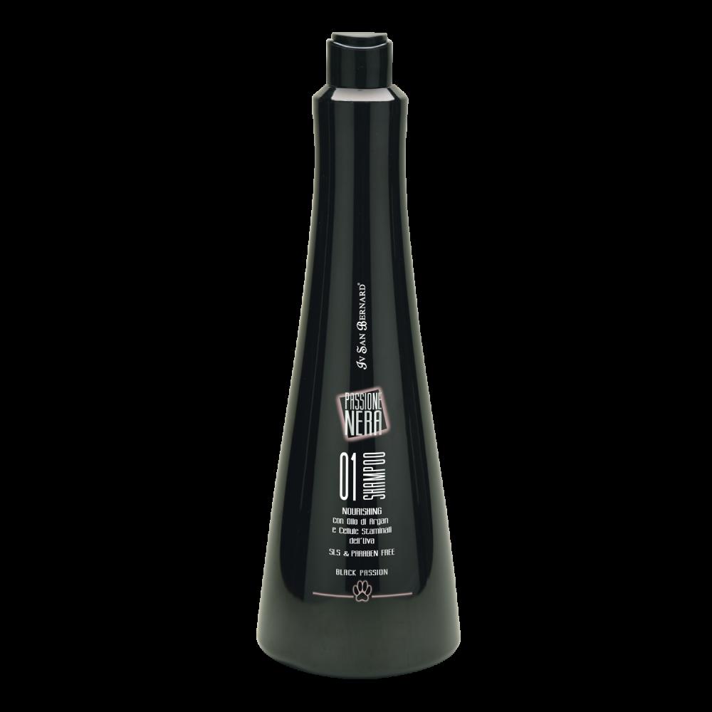 Iv San Bernard Black Passion 01 - Шампунь питательный с аргановым маслом