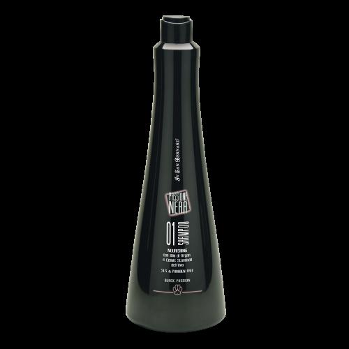 Black Passion 01 - Шампунь питательный с аргановым маслом