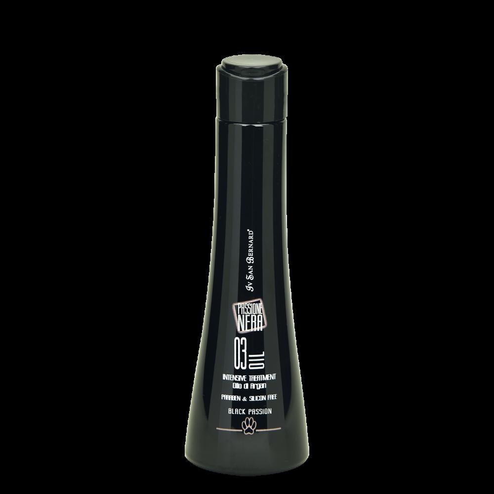 Iv San Bernard Black Passion 03 - Масло Аргании для интенсивного восстановления и лечение для всех типов шерсти