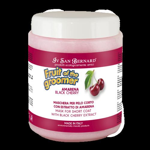 Fruit of the Grommer Black Cherry - Восстанавливающая маска для короткой шерсти с протеинами шелка