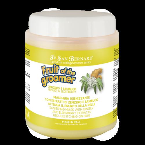 Fruit of the Grommer Ginger&Elderbery - Восстанавливающая маска с противовоспалительным эффектом