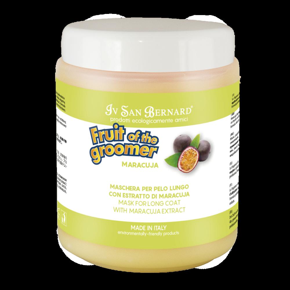 Iv San Bernard Fruit of the Grommer Maracuja - Восстанавливающая маска для длинной шерсти с протеинами