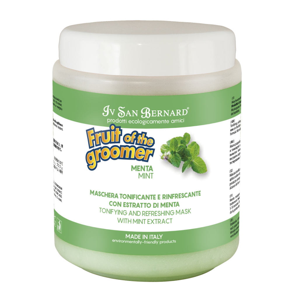 Iv San Bernard Fruit of the Grommer Mint - Восстанавливающая маска для любого типа шерсти с витамином В6