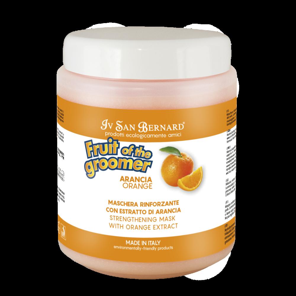 Iv San Bernard Fruit of the Grommer Orange - Восстанавливающая маска для слабой выпадающей шерсти с силиконом