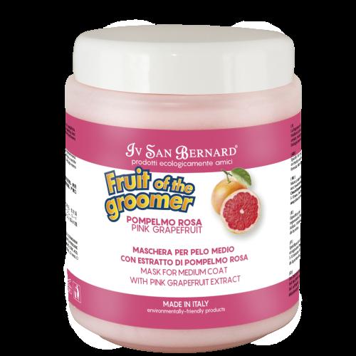 Fruit of the Grommer Pink Grapefruit - Восстанавливающая маска для шерсти средней длины с витаминами