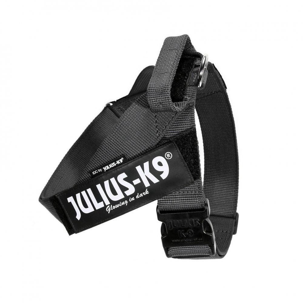 Julius-K9 Color & Gray IDC® - Шлейка для собак с ремнями, размер 3 (84-113см / 40-70кг)