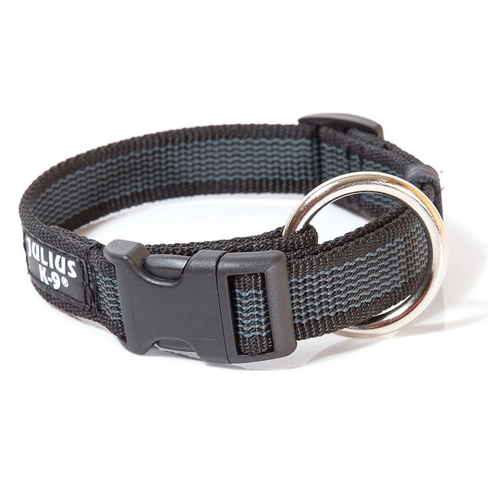 Julius-K9 Color & Gray - Ошейник для собак, обхват шеи 27-42см ширина 2см