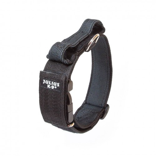 Color & Gray - Ошейник для собак с закрытой ручкой, обхват шеи 38-53 см, ширина 4см