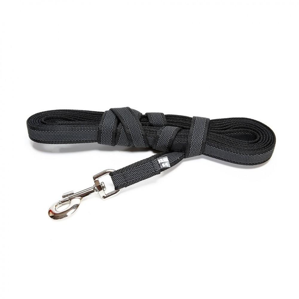 Julius-K9 Color & Gray Super-grip - Поводок для собак (до 50 кг) с ручкой, длина 500 см