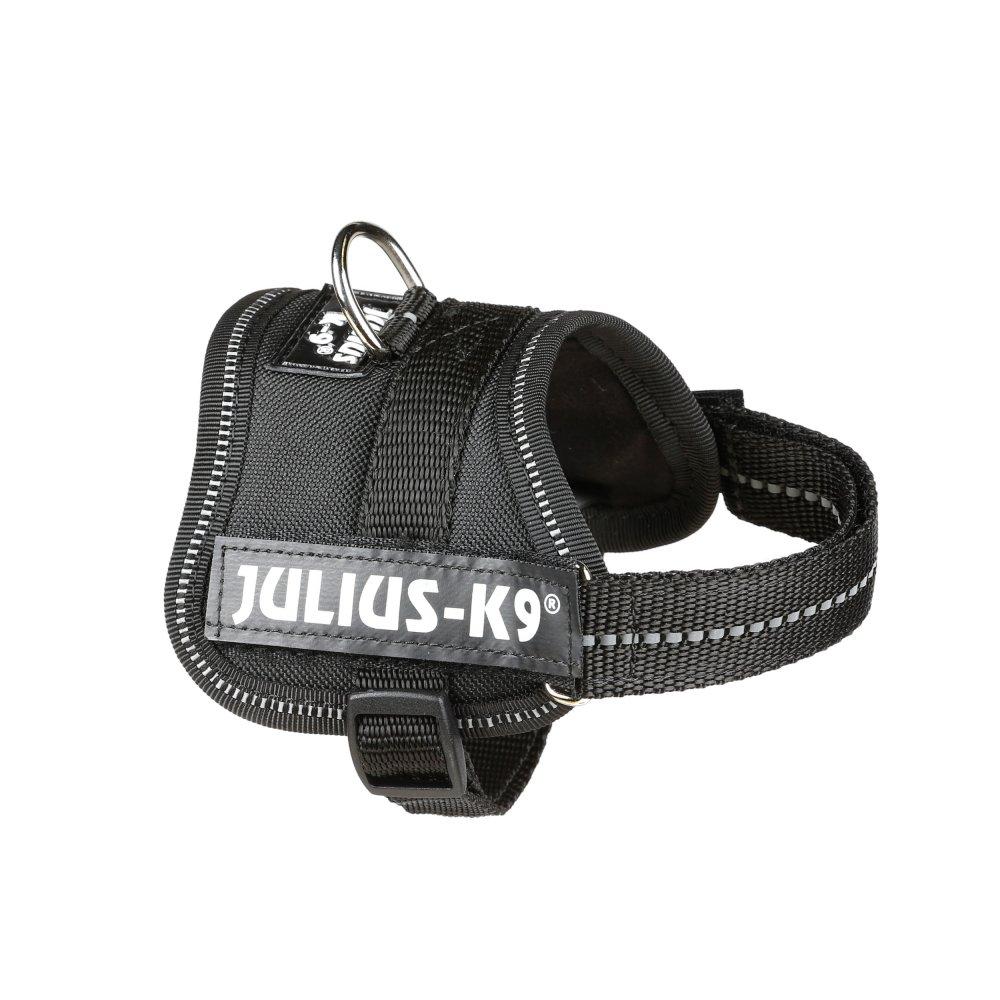 Julius-K9 IDC®-Powerharness Baby - Шлейка для собак черная