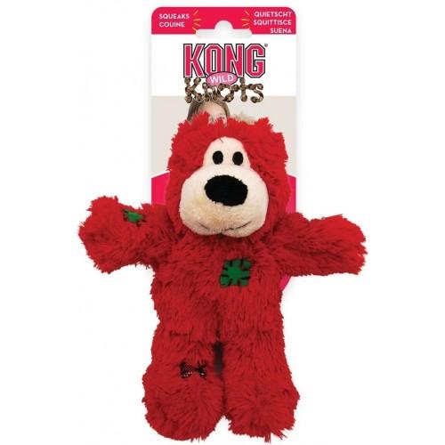 Holiday Wild Knots - Игрушка для собак Мишка