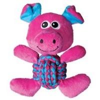 Weave Knots - Игрушка для собак Свинка средняя