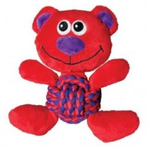 Weave Knots Конг Игрушка для собак Мишка средний, 22х20 см