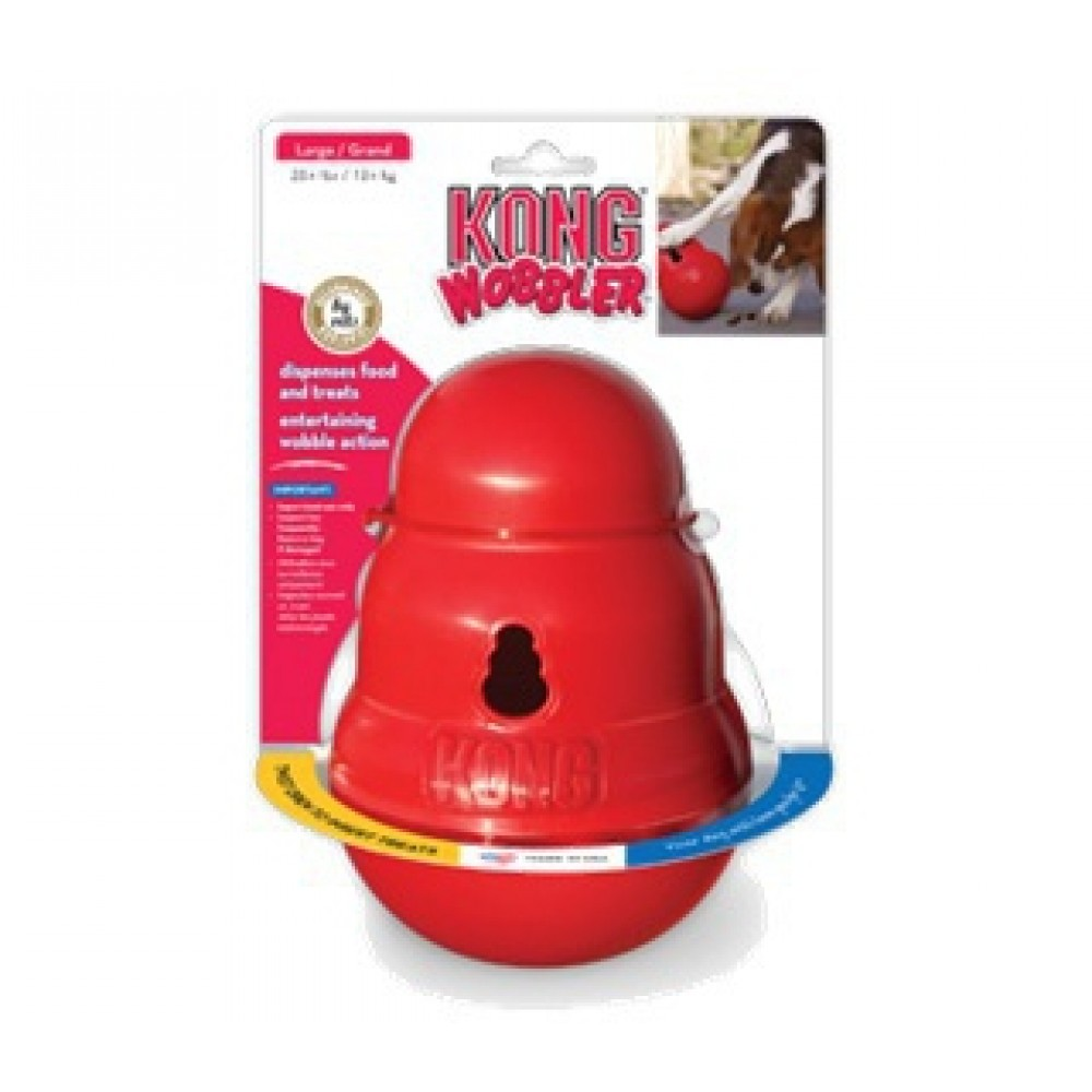 KONG Wobbler - Игрушка интерактивная для собак