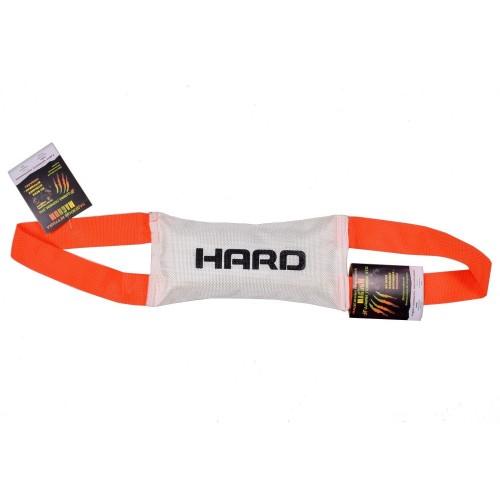 HARD - Игрушка для собак тягалка, две ручки, с пищалкой