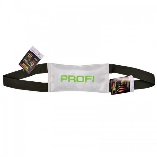PROFI - Игрушка для собак тягалка, две ручки, с пищалкой