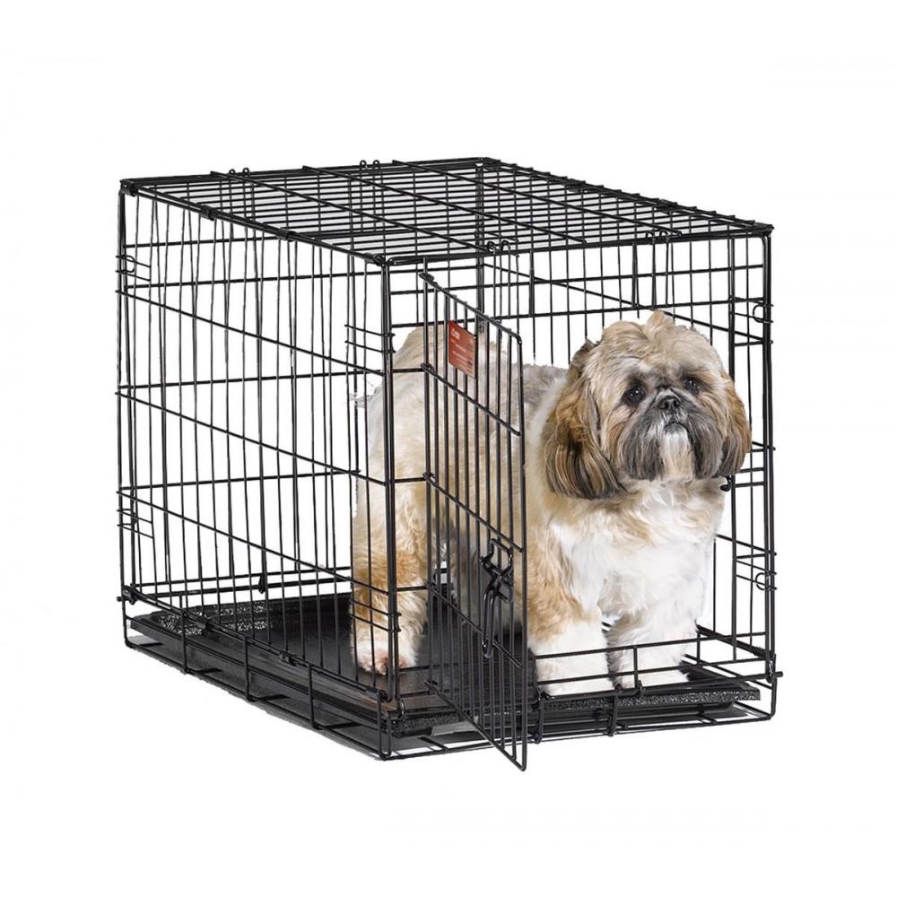MidWest iCrate - Клетка для животных 1 дверь, черная