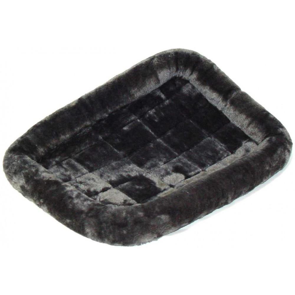 MidWest Pet Bed - Лежанка для кошек и собак меховая, серая