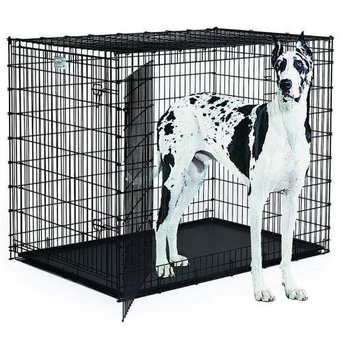 Life Stages - Клетка для животных 2 двери, черная
