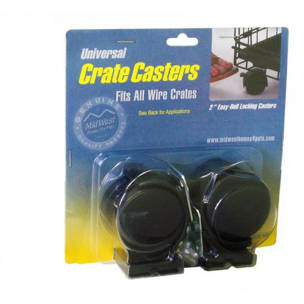 MidWest Universal Crate Caster - Колеса для клеток универсальные 2 шт.