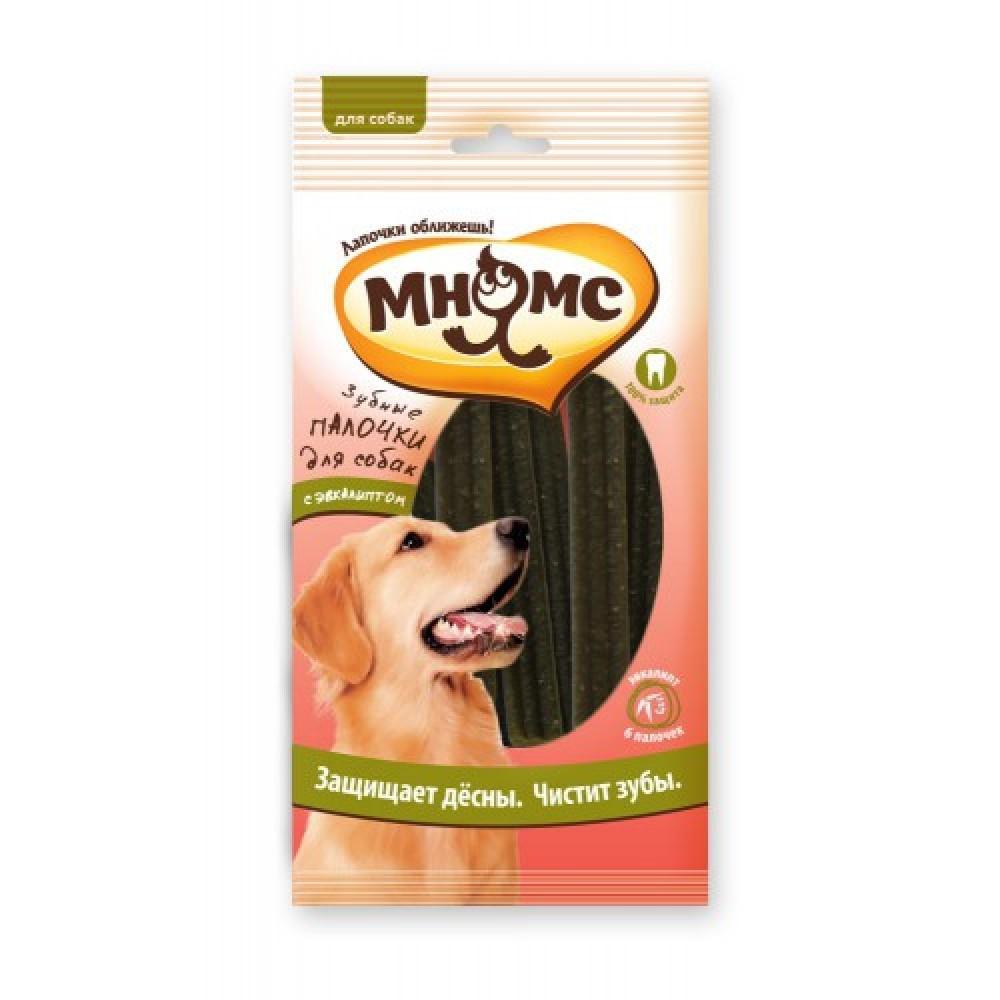 Мнямс Зубные палочки для собак с эвкалиптом