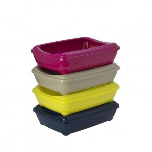 Arist-o-tray - Туалет-лоток для кошек с бортом (размер M)