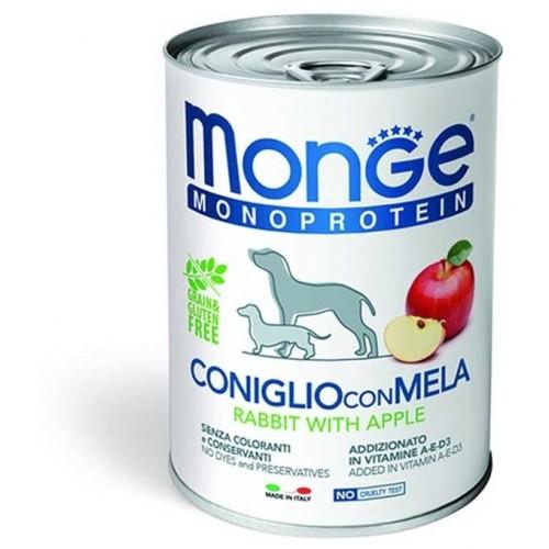 Dog Monoprotein Fruits - Консервы для собак паштет из кролика с яблоком