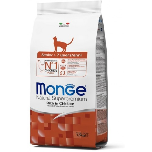 MONGE CAT SENIOR 1,5 кг